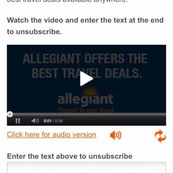 Allegiant Air - 30 Reviews - Airlines - 3707 N Harbor Dr