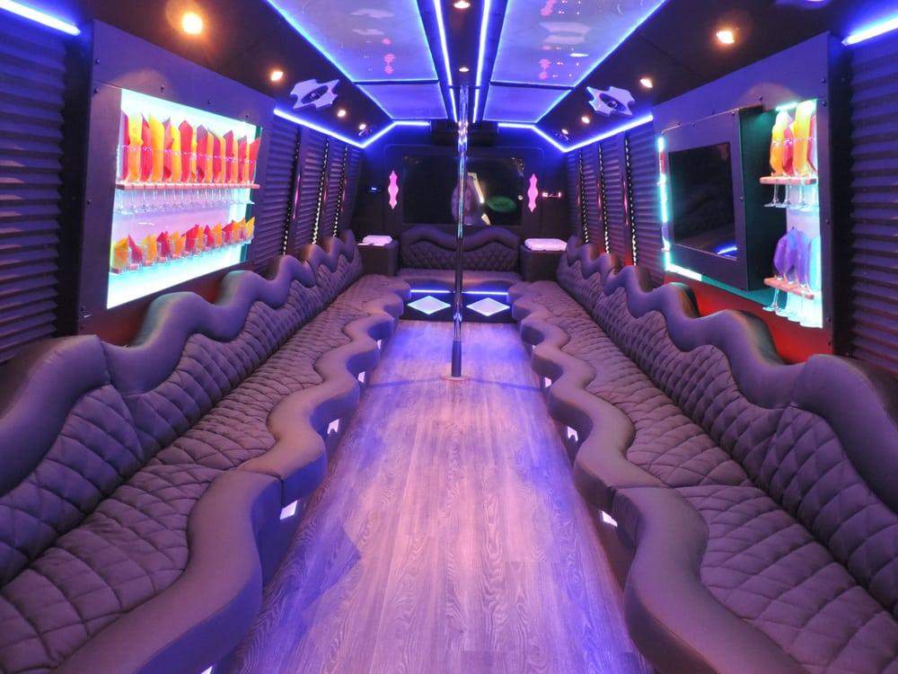 Memphis Party Bus A Posh Limousine Memphis 60 Inch Led