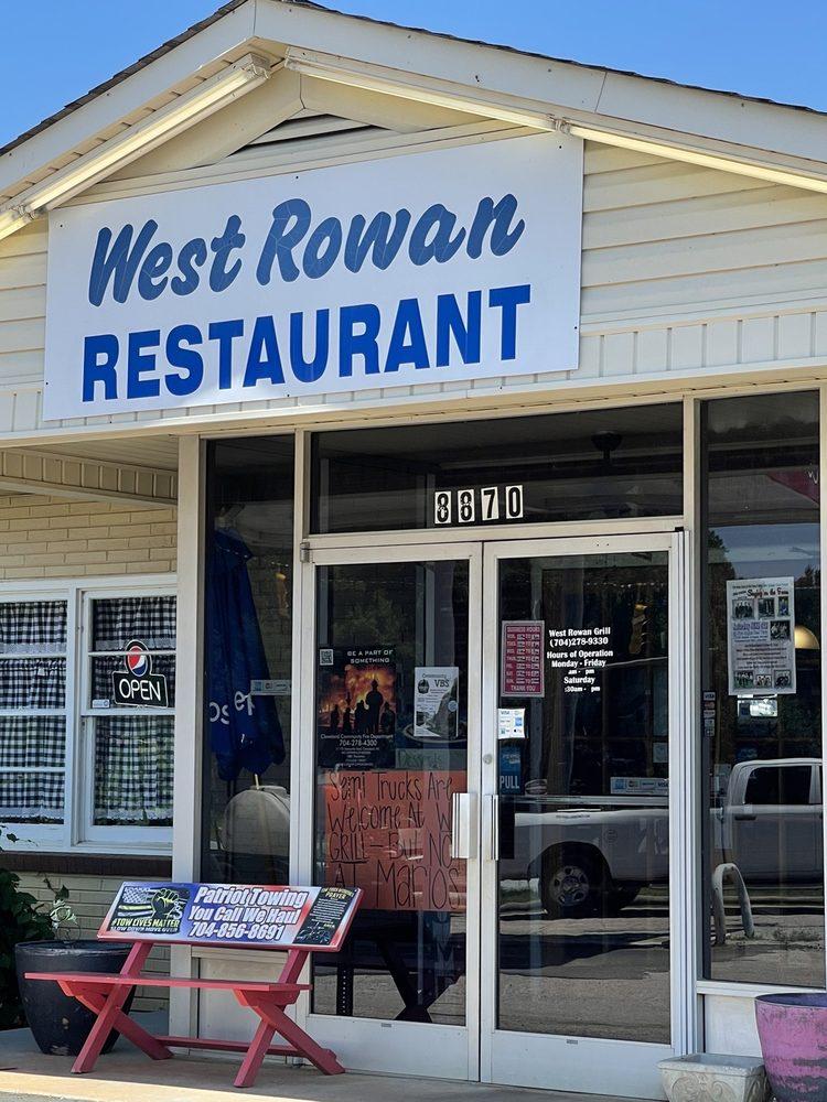 West Rowan Restaurant & Grocery: 8870 Statesville Blvd, Cleveland, NC