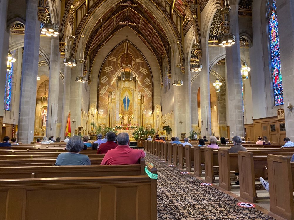 Queen Of All Saints Basilica: 6280 N Sauganash Ave, Chicago, IL