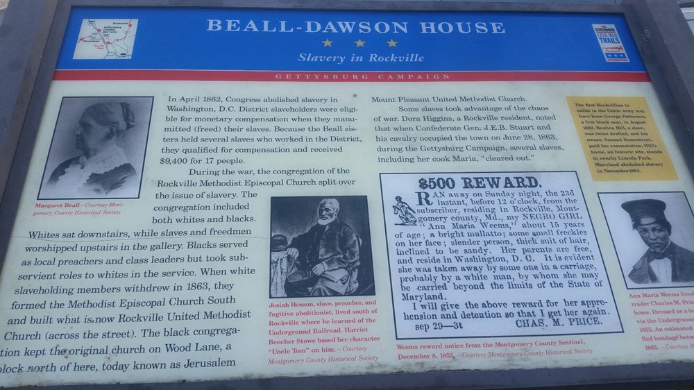 Beall-Dawson Historic House Museum: 111 W Montgomery Ave, Rockville, MD