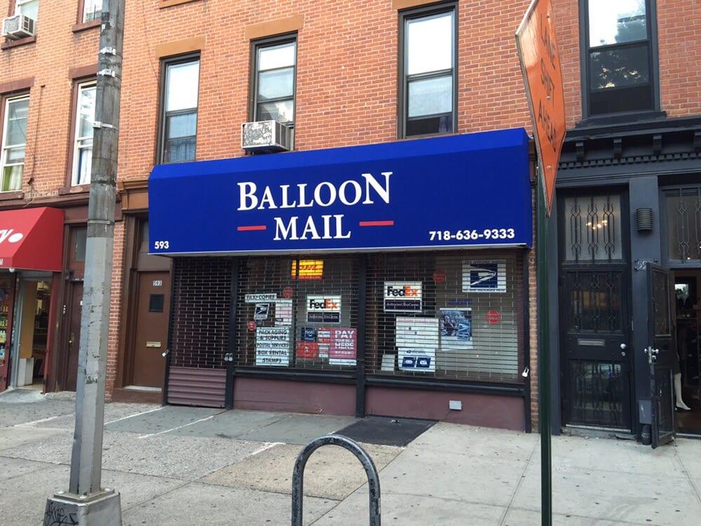 balloon mail envoi de lettres et colis 593 vanderbilt ave prospect heights brooklyn ny. Black Bedroom Furniture Sets. Home Design Ideas
