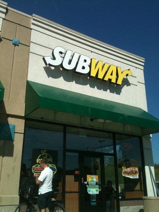 Subway: 4315 NE Chouteau Trafficway, Kansas City, MO