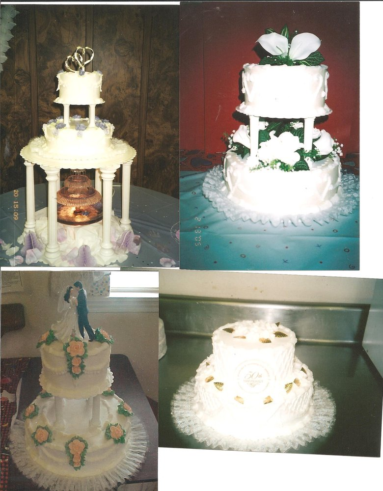 Wedding cake set ups. Call and make an appointment for ...