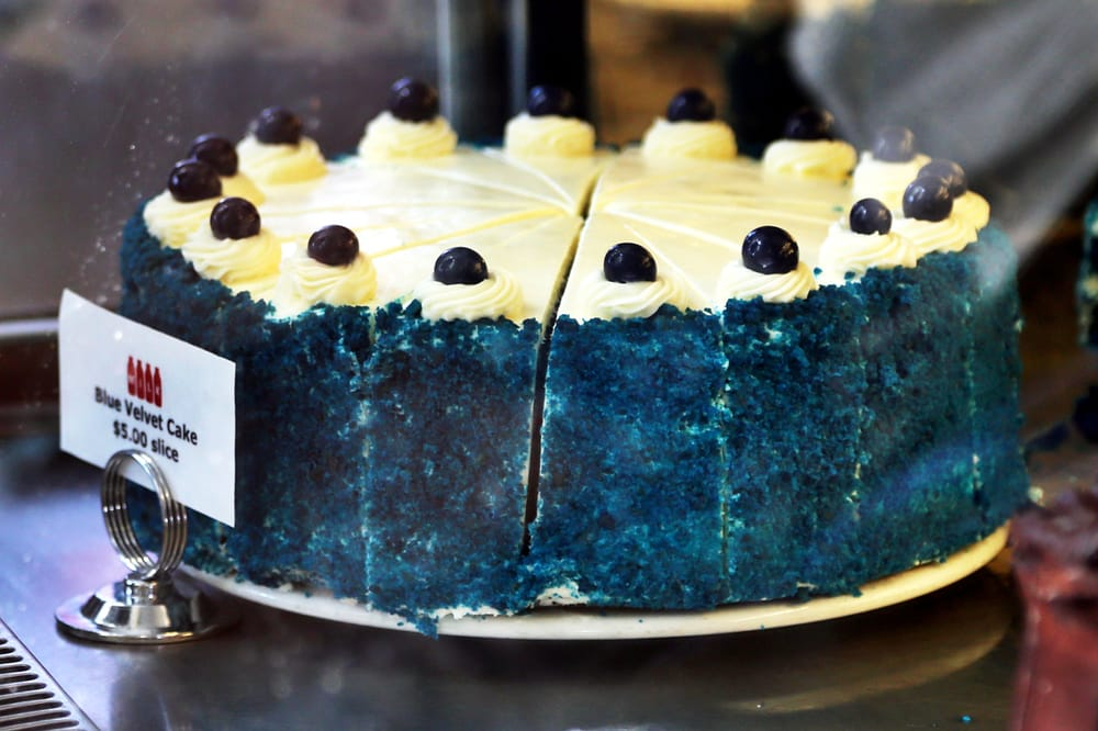 Blue Velvet Cake Milk Los Angeles