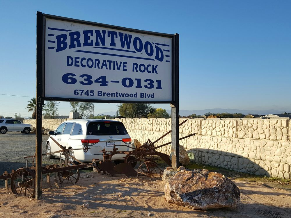 Brentwood Decorative Rock: 6745 Brentwood Blvd, Brentwood, CA