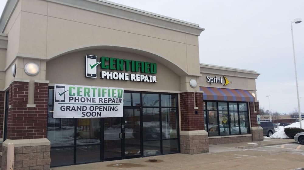 Certified Phone Repair: 2331 Sycamore Rd, DeKalb, IL