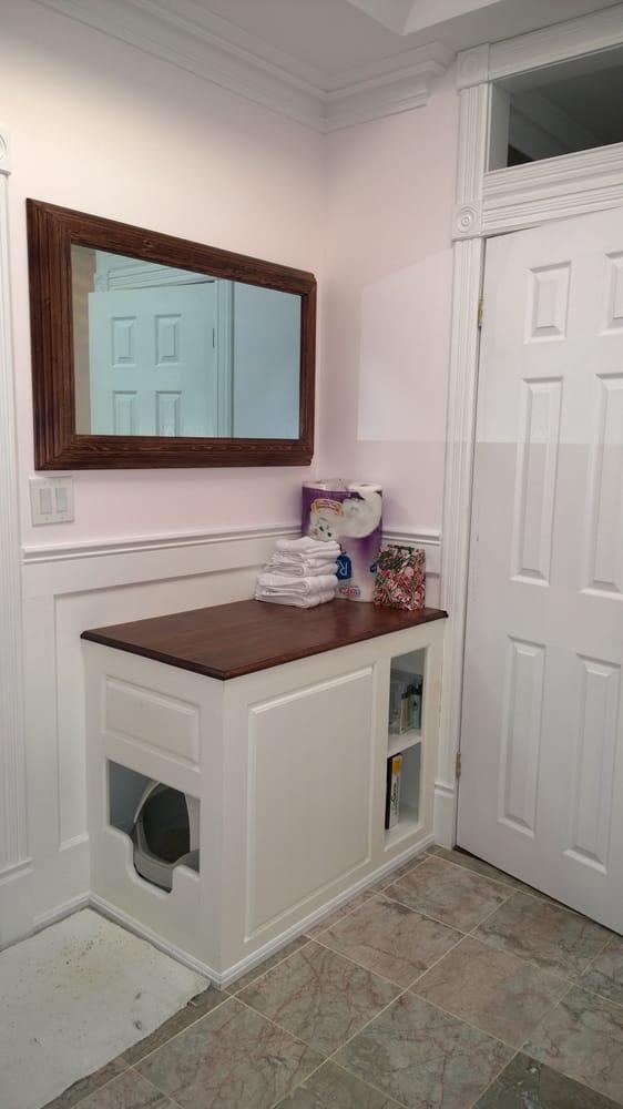 Photo Of Touch Glass Renovations Toronto On Canada Custom Bathroom Cabinet