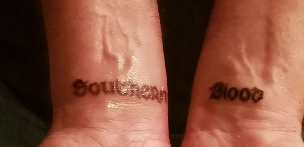 Check Out This Cool Southern Blood Tat That Mandy Bubbles Did