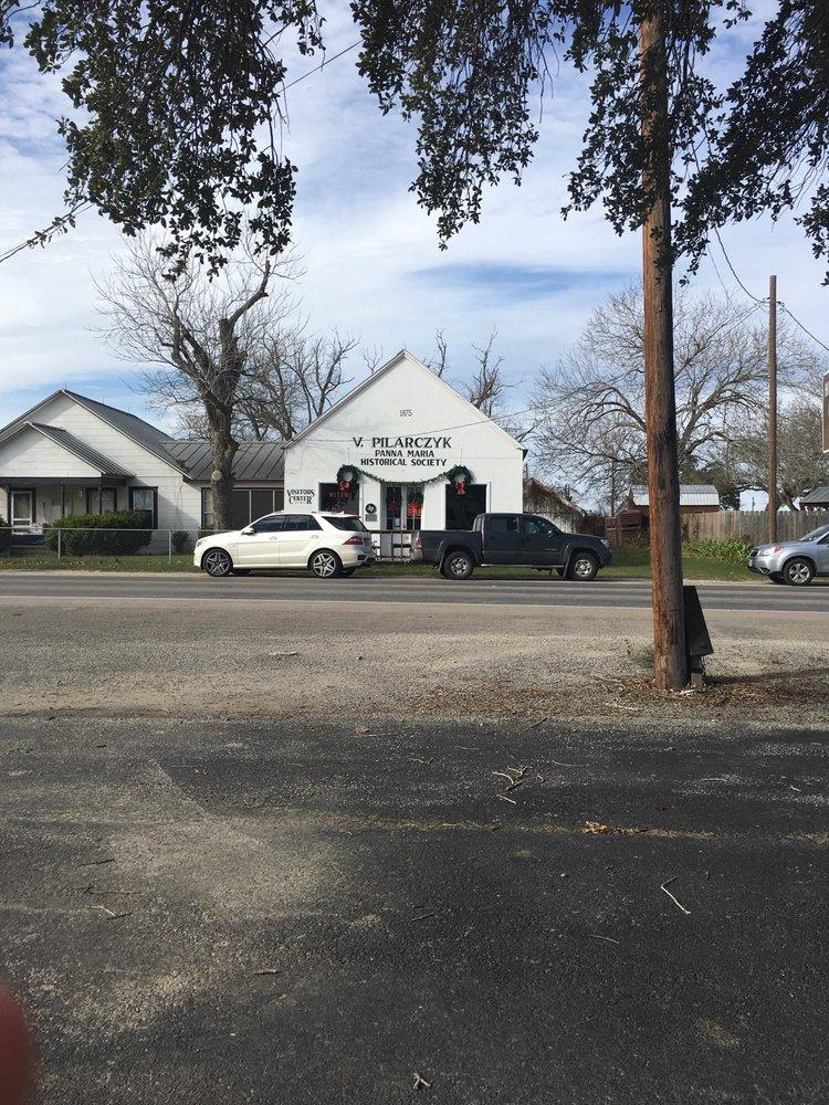 Panna Maria Visitor's Center: 13860 N Fm 81, Panna Maria, TX