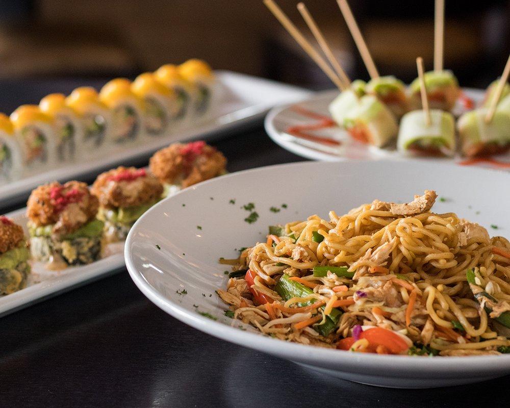 ra sushi bar noodles and sushi