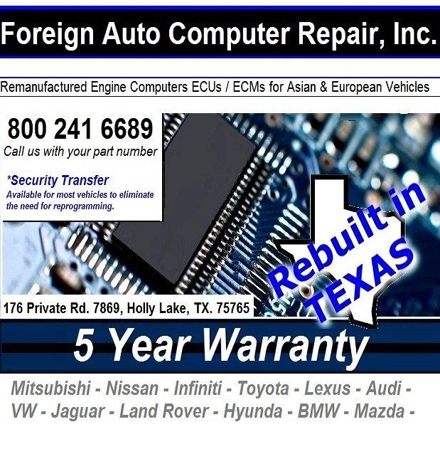 Foreign Auto Computer Repair: 176 Private Rd 7869, Hawkins, TX