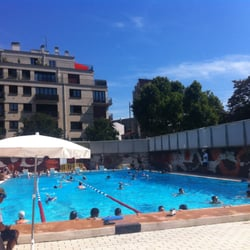 Open air open roof swimming in and around paris a yelp for Piscine georges vallerey