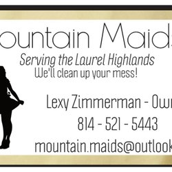 Mountain Maids - Request a Quote - Home Cleaning - 104 Old Pritts Ln