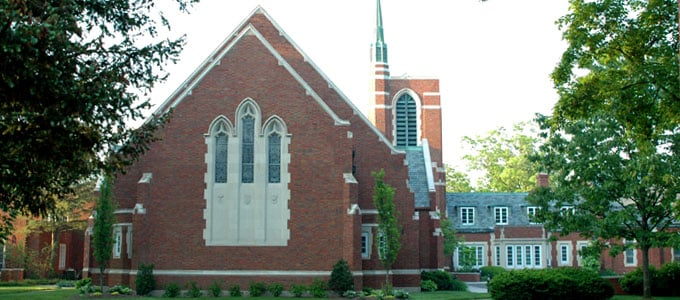 Birmingham First United Methodist Church: 1589 W Maple Rd, Birmingham, MI