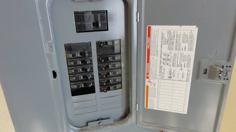 Missing Knockout In Electrical Panel Is Electrocution