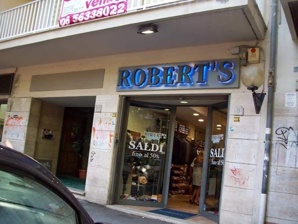 Robert s abbigliamento maschile corso duca di genova for Corso roma abbigliamento