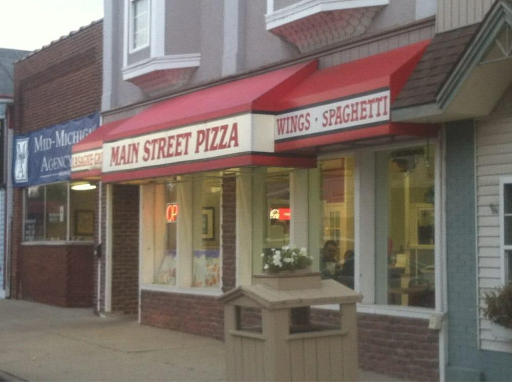 Main Street Pizza: 123 N Mill St, Saint Louis, MI