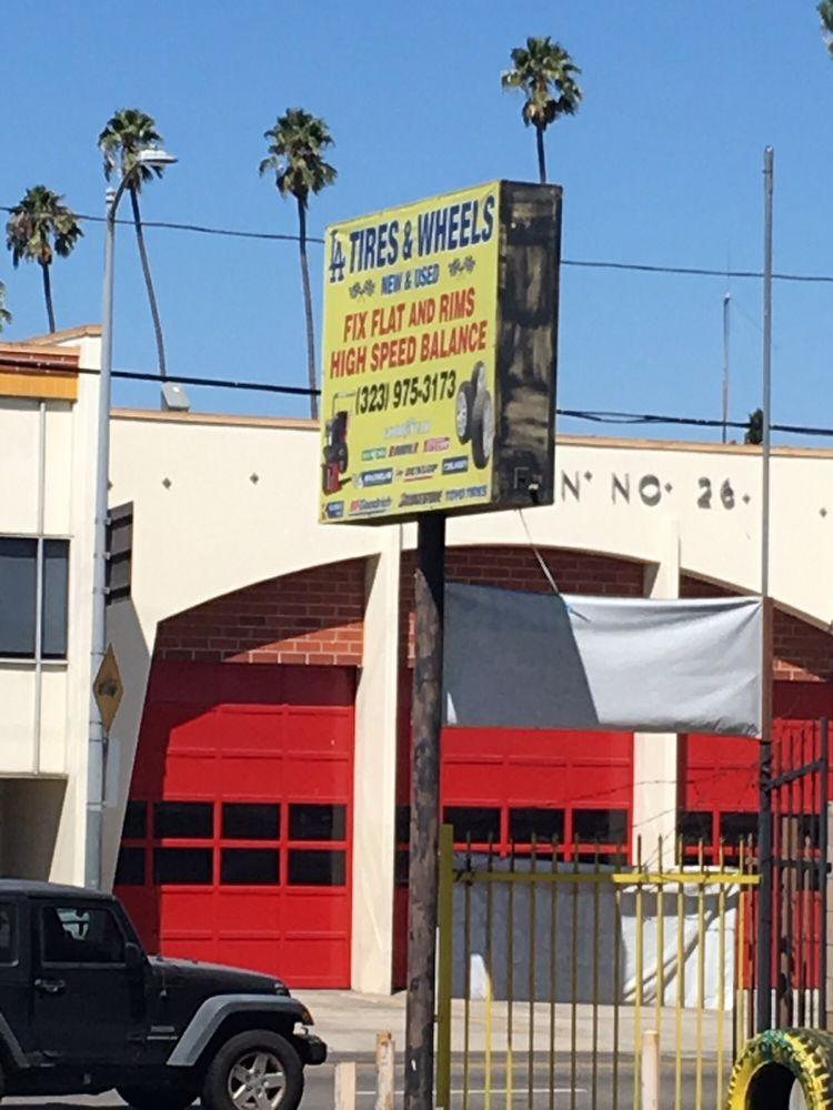 LA Tires & Wheels: 2020 S Western Ave, Los Angeles, CA
