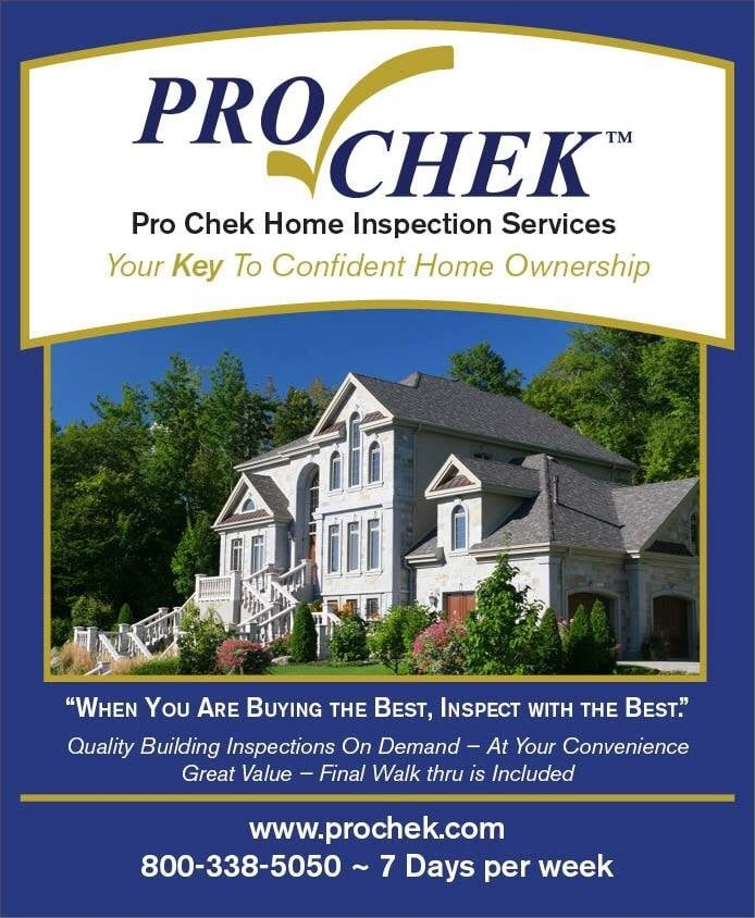 Photos For Pro Chek Home Inspection Services Yelp