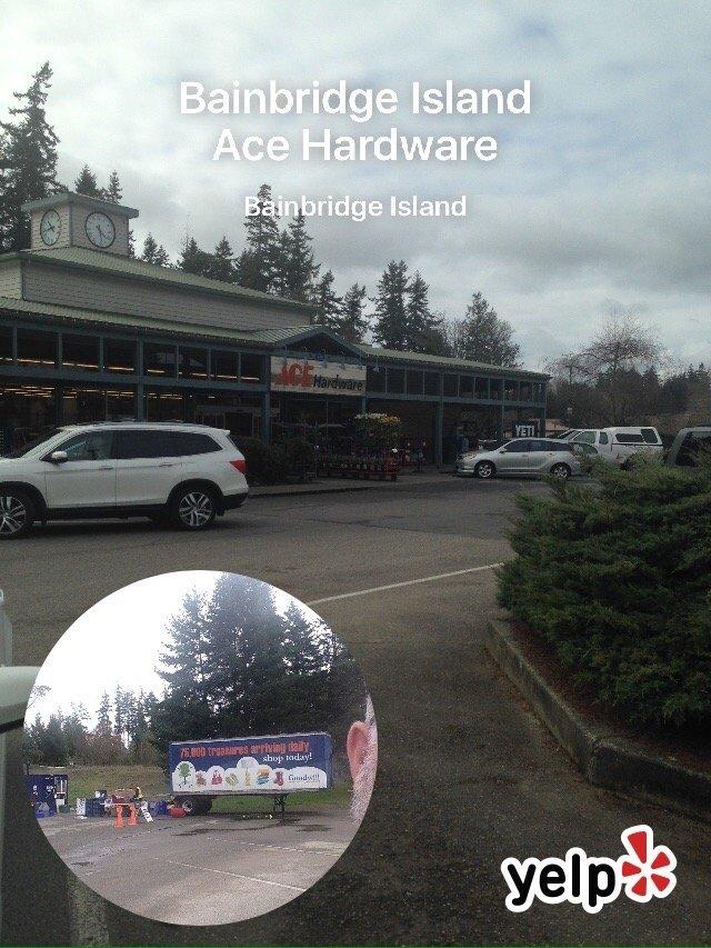 Bainbridge Island Ace Hardware: 635 High School Rd NE, Bainbridge Island, WA