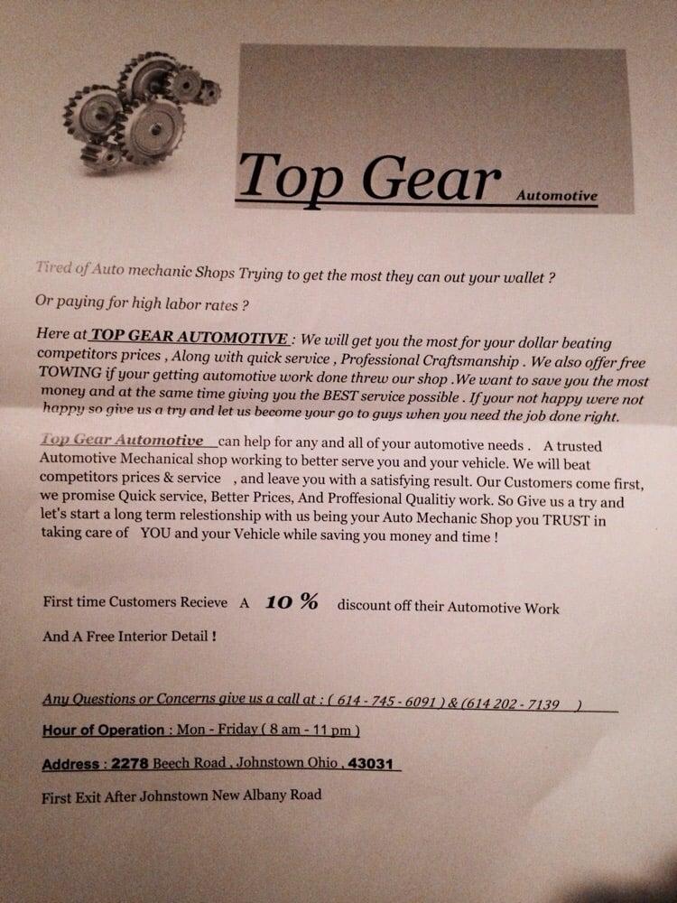Top Gear Automotive