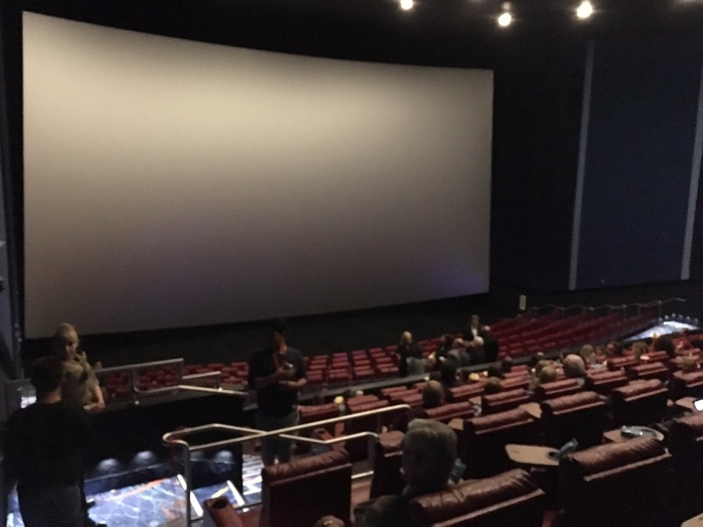 I love the imax room at galaxy luxury imax theater yelp for Riverbank theater