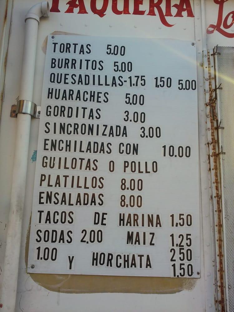 Taqueria Los Michoacanos: 608 West Mount Houston, Houston, TX