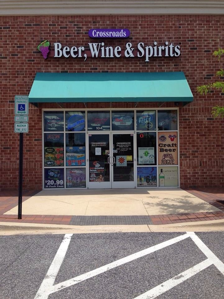Crossroads Beer  Wine & Spirits: 750 Concourse Cir, Middle River, MD