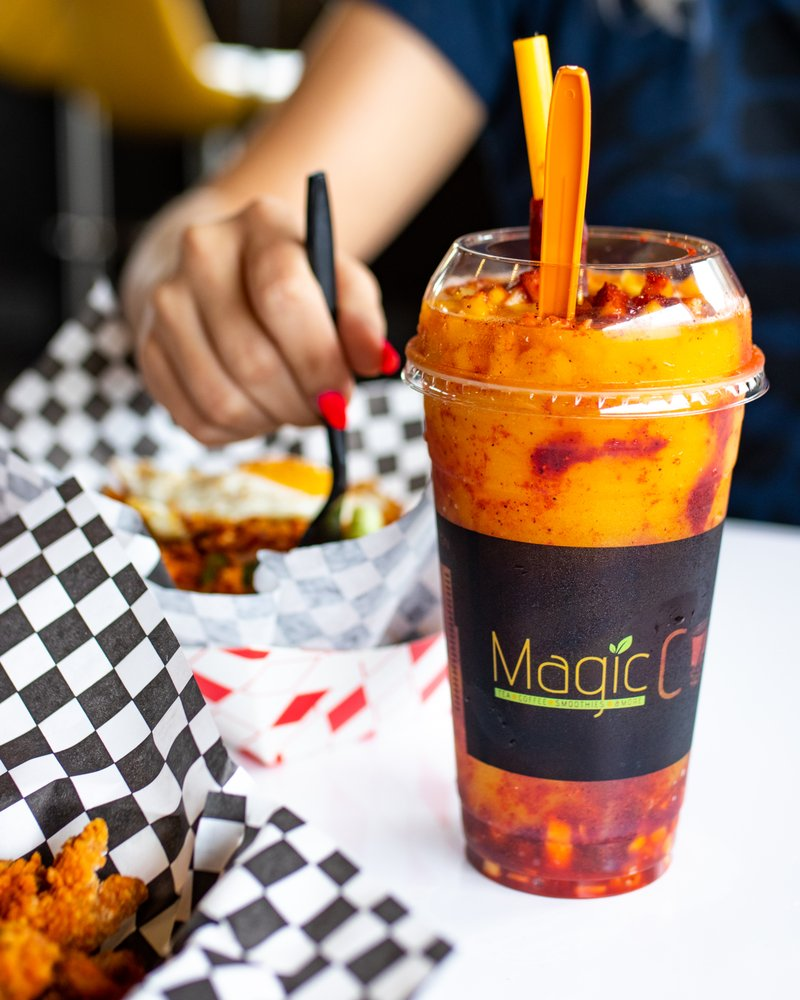 Magic Cup: 11724 Bellaire Blvd, Houston, TX