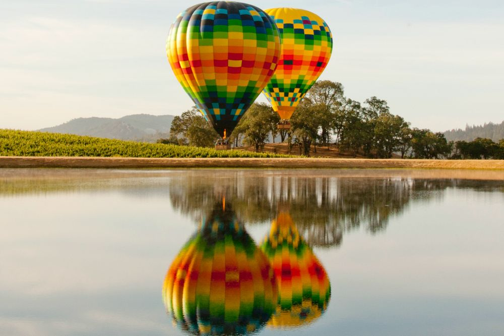 Napa Valley Aloft Balloon Rides: 6525 Washington St, Yountville, CA