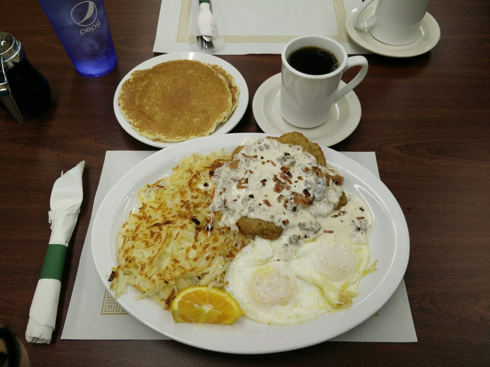 Qc Pancake House Mail: Country Fried Steak Breakfast