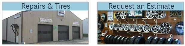 Christiansen Tire & Alignment: 586 Woodland Lake Rd, Le Raysville, PA