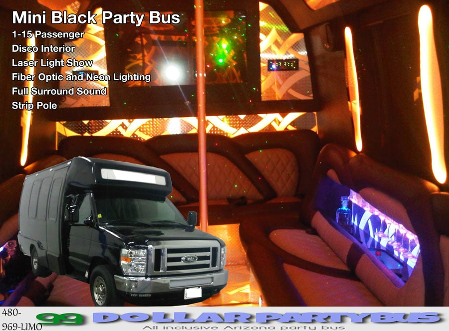 Arizona Party Bus: Tempe, AZ