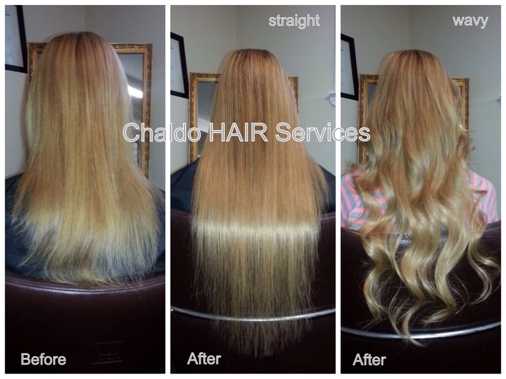 Before And After Hot Fusion Extensions Yelp