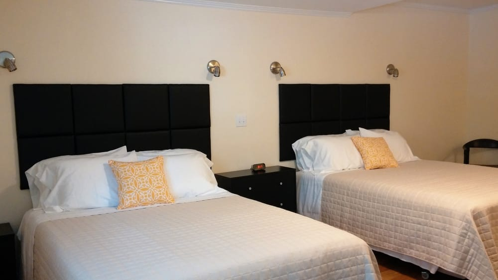 Photo Of Rhinebeck Motel Ny United States Two Queen Size Beds