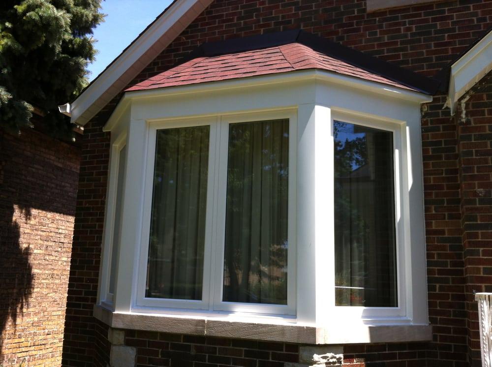 Foyer Window Leak : New leak free bay window with shingled roof and proper