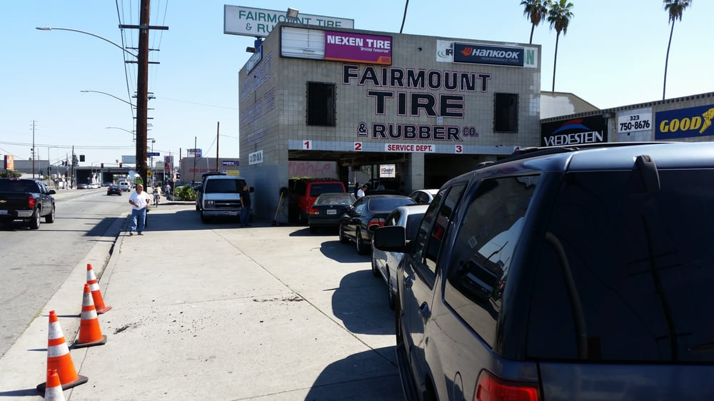Photo Of Fairmount Tire Rubber Los Angeles Ca United States