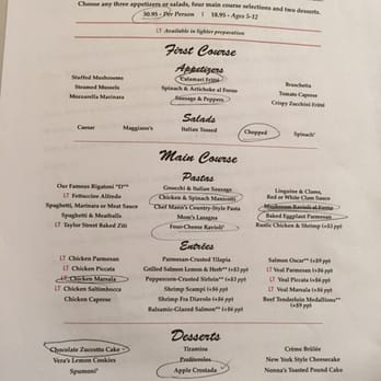 Restaurant menu, map for Maggiano's Little Italy located in , Bridgewater NJ, Commons grinabelel.tkon: Commons Way, BRIDGEWATER, , NJ.
