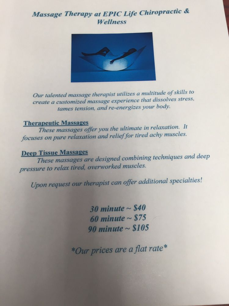 Epic Life Chiropractic & Wellness: 745 Rue St, Florissant, MO