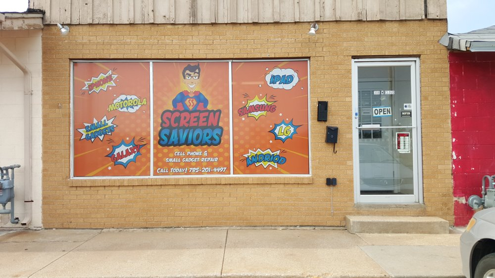 Screen Saviors: 308 W Cloud St, Salina, KS