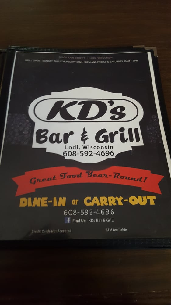 KD's Bar & Grill: 1434 N Fair St, Lodi, WI