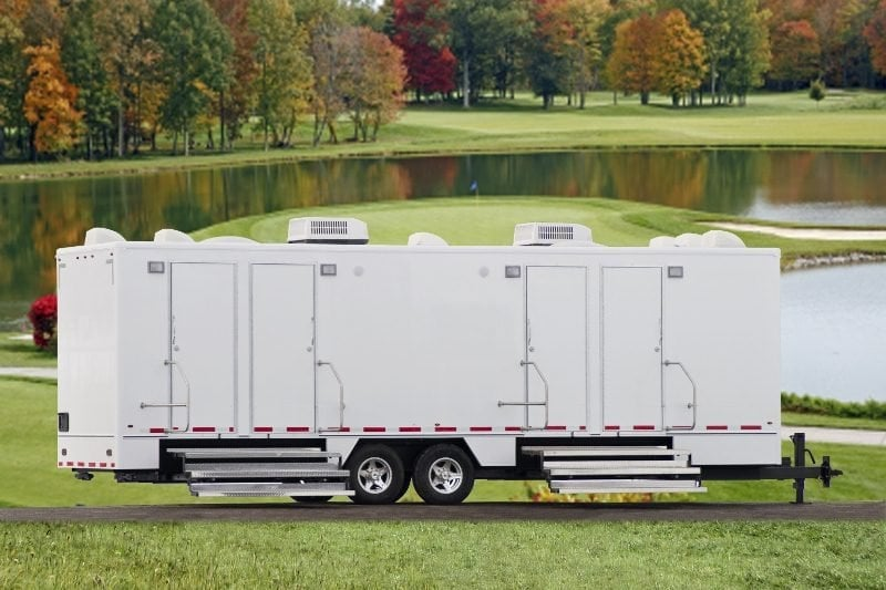 M And T Portable Toilets : Superior speedie portable toilets restroom trailers