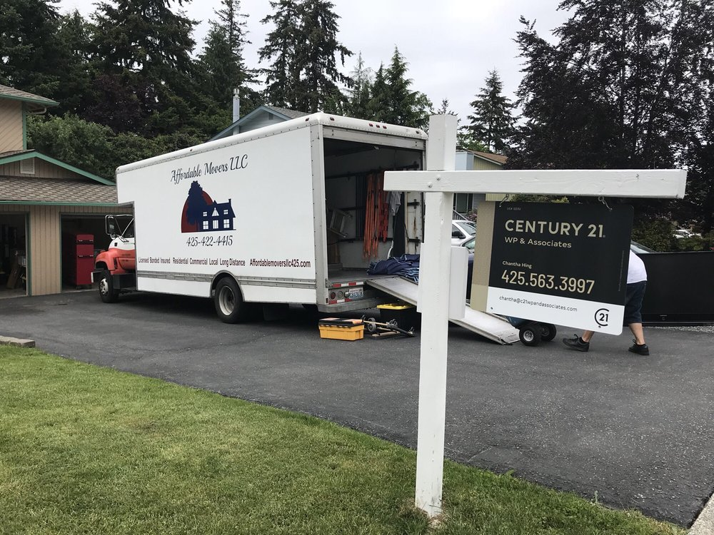 Affordable Movers: Everett, WA