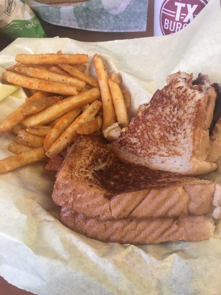 TX Burger - Corrigan: 305 S Home St, Corrigan, TX