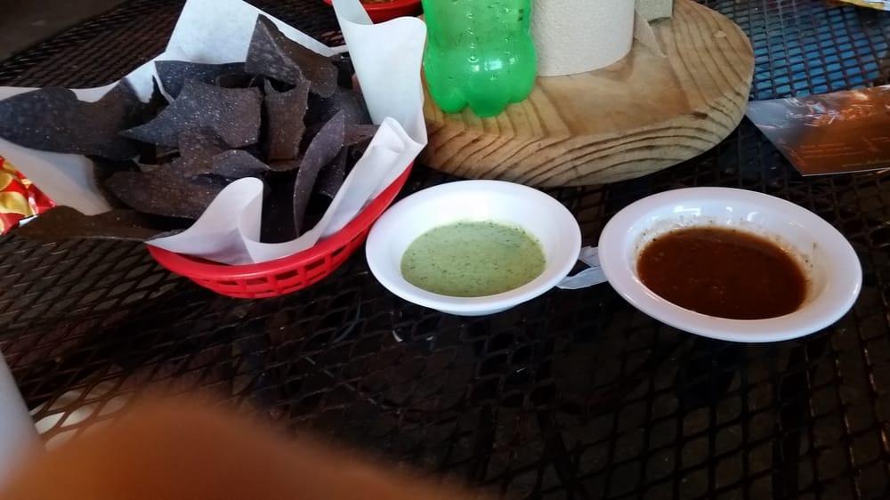 Mild salsa and avocado salsa - Yelp