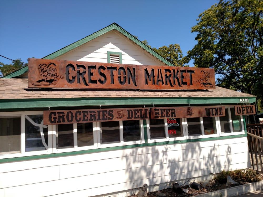 Creston Market: 6330 Webster Rd, Creston, CA
