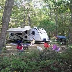 Oak Leaf Campground Rhode Island