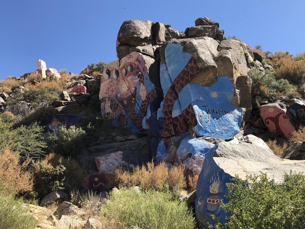 Roy Purcell's Murals: Murals Rd, Chloride, AZ