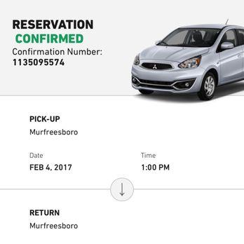 car rental deals murfreesboro tn
